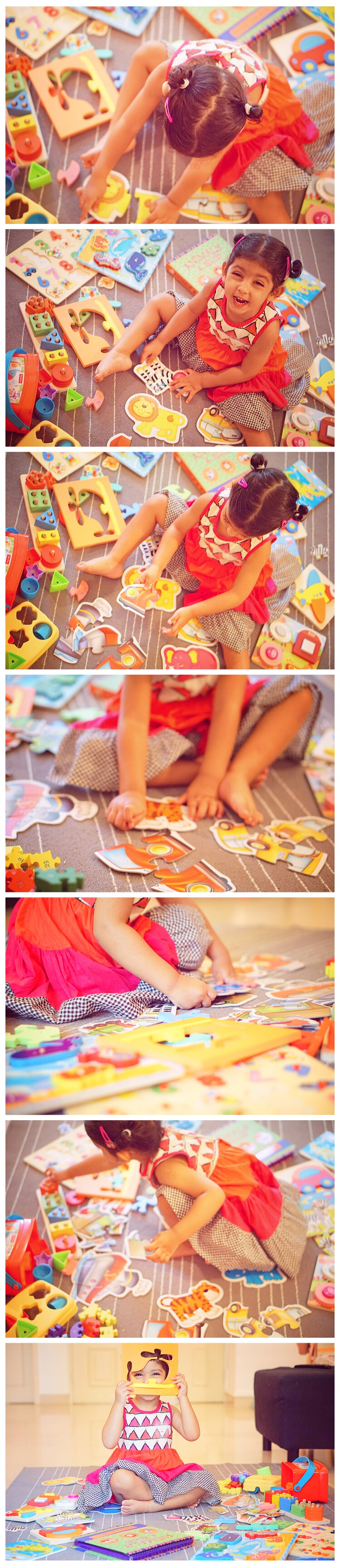 How and When to introduce Puzzles to toddlers